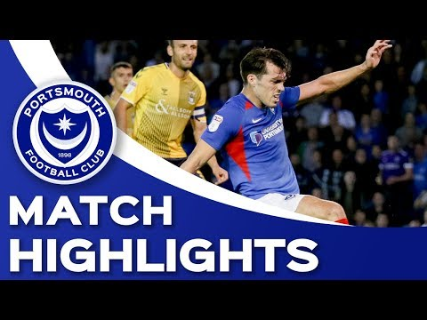 Highlights: Portsmouth 3-3 Coventry City