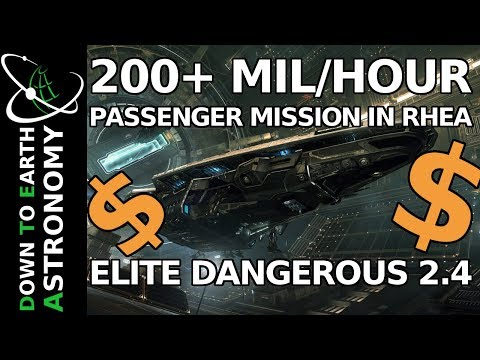 200+ MIL/HOUR PASSENGER MISSIONS | ELITE 2.4