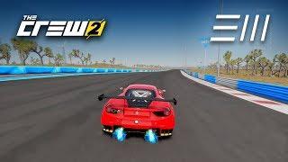 The Crew 2 -  Ferrari 488 GT3 *TOURING CAR* CIRCUIT RACE GAMEPLAY!