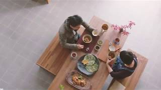 백토마을의 그릇 일상 전시 영상