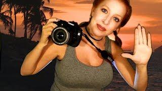 ASMR Beach Photo Shoot *You're My Model*