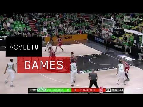 ASVEL Basket vs SIG Strasbourg : résumé