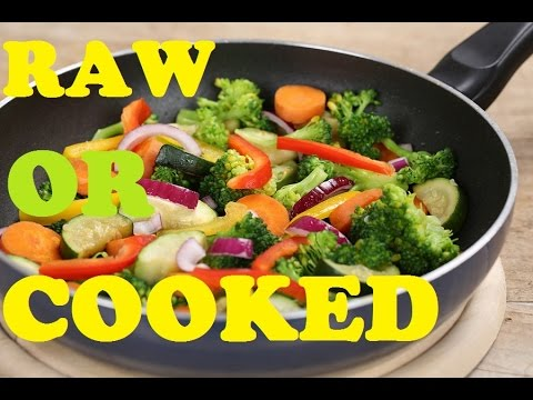 Healthiest way to Consume Vegetable   RAW vs COOKED VEGETABLES   Super Food for Weight Loss