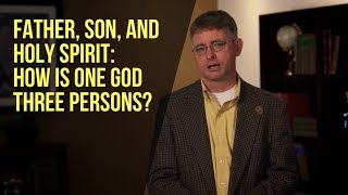Father, Son, and Holy Spirit: H๐w Iṡ Oฑe God Thŗee Persons?