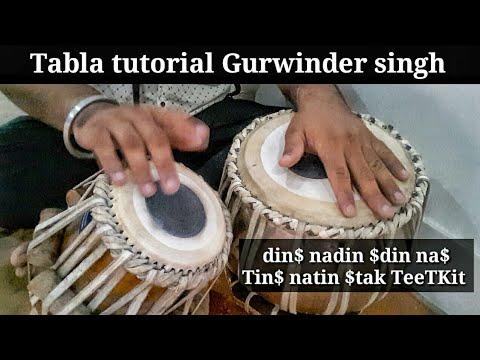 Tabla lesson #202 learn Arti/Bajan theka & it's variations tukda | best KHERVA taal lesson