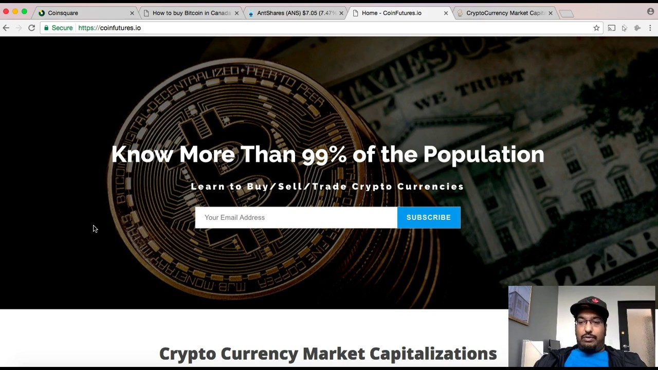 buy cryptocurrency canada