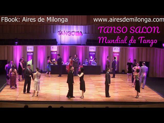 Baile de tango salón, Mundial de Tango 2016, Clasificatoria pista  Ronda 7/10