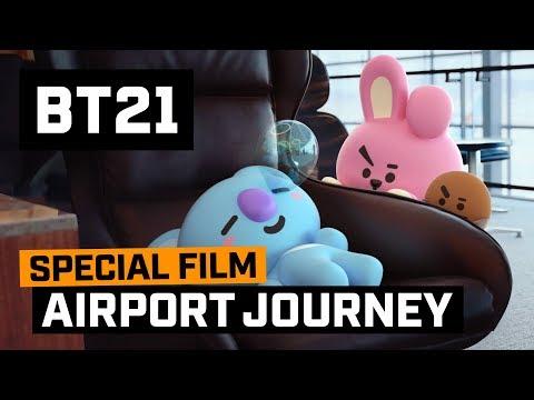 [BT21] BT21's Airport Journey  - KOYA