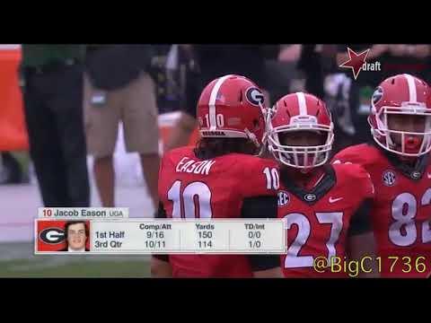 Jacob Eason vs Vanderbilt 2016