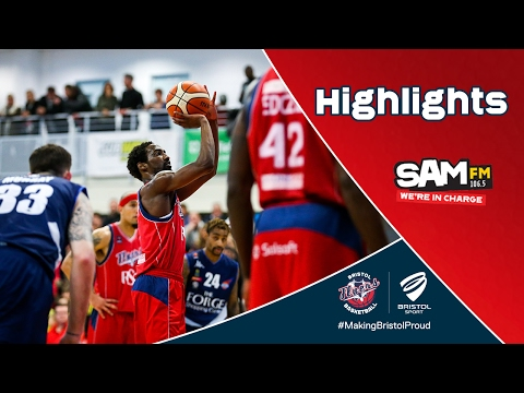 HIGHLIGHTS: Bristol Flyers 60-74 Glasgow Rocks
