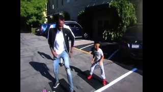Boy Beats Usain in track ! Usain Bolt Surprises Boy on Ellen thumbnail