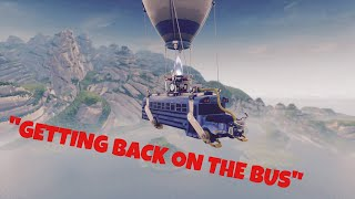 """GETTING BACK ON THE BUS"" (Fortnite Battle Royale) Ft. BANE xAlpha"