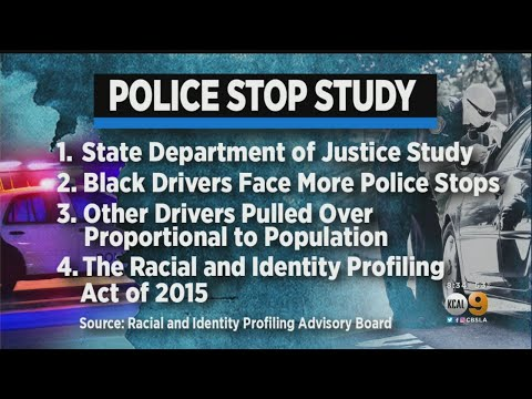 DC - Study Shows Black Drivers Pulled Over More Often In CA