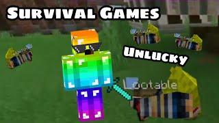Minecraft Survival Games |  Hive Server | Unlucky