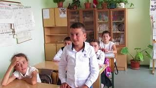 Урок русского языка в 6 классе школы с.Гиши