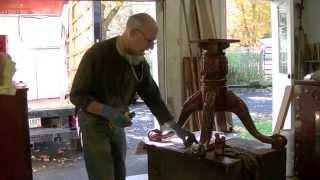 Restoring A Table's Damaged Clawfoot - Thomas Johnson Antique Furniture Restoration