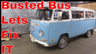 VW BUS Transmission Failure,  Help Me Fix it,