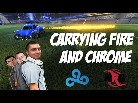 CARRYING FIREBURNER AND CHROME