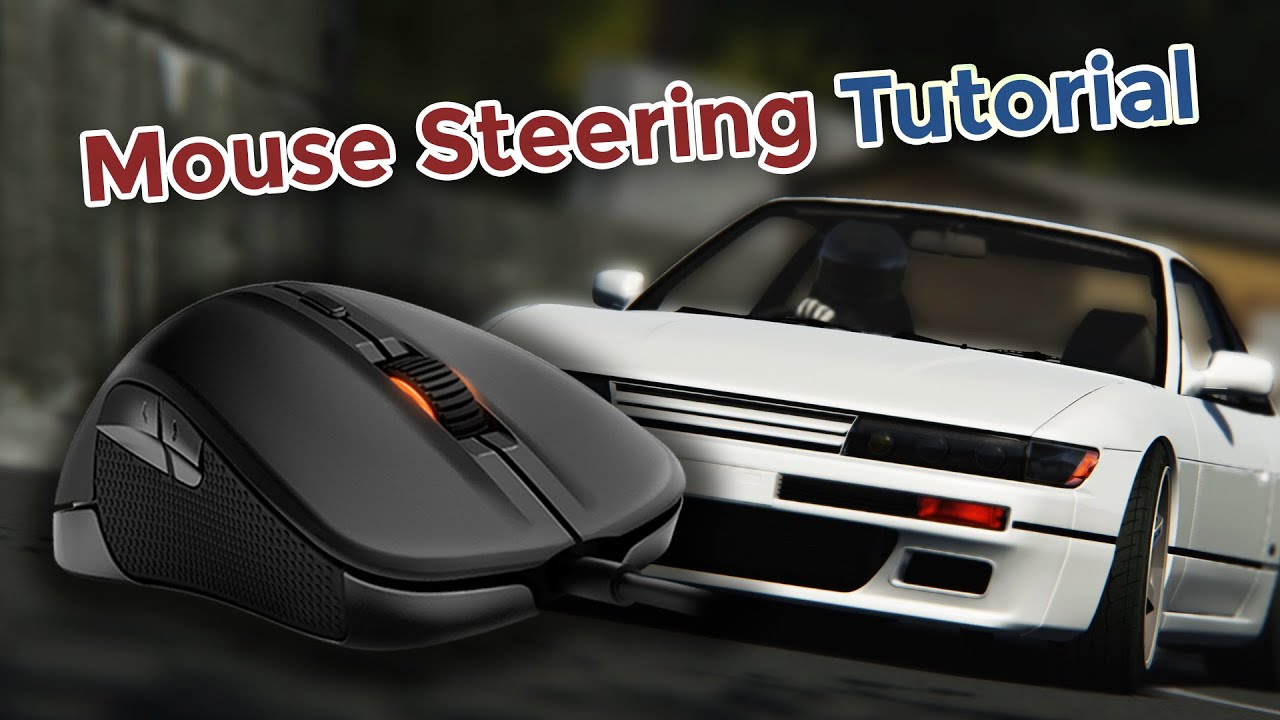 FreePIE + vJoy: Mouse Steering Tutorial for Assetto Corsa and rFactor