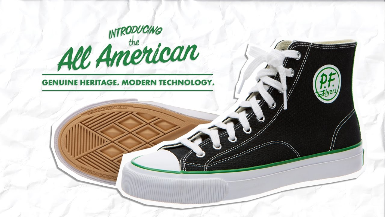 1f3118bad00c Introducing the PF Flyers All American - YouTube