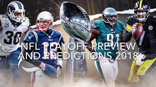 NFL Playoff Preview and Predictions 2018