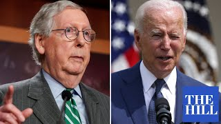 McConnell ATTACKS Biden for 'creating a sense of pessimism among the American people'