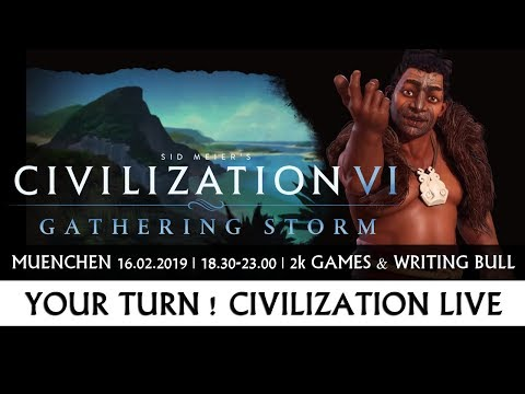 Your Turn! Civilization Live - Writing Bull Community bei 2K Games in München [Werbung]