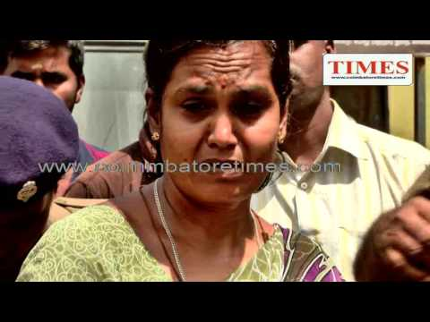 Suicide Fire attempt in coimbatore collector office