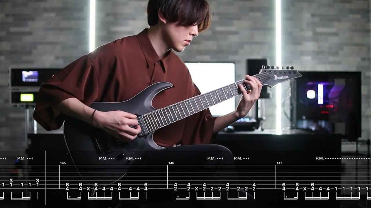 BABYMETAL - MEGITSUNE Guitar Cover Screen Tabs