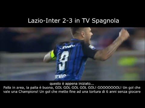 """RIMONTA INTER in LAZIO-INTER 2-3 in SPAGNA -""""E' PAZZA INTER AMALA!""""- (sub ITA)"""
