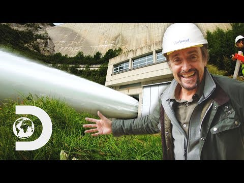Richard Feels The POWER Of This Huge Valve Pouring Out 20K Litres Per Second | Richard Hammond's Big