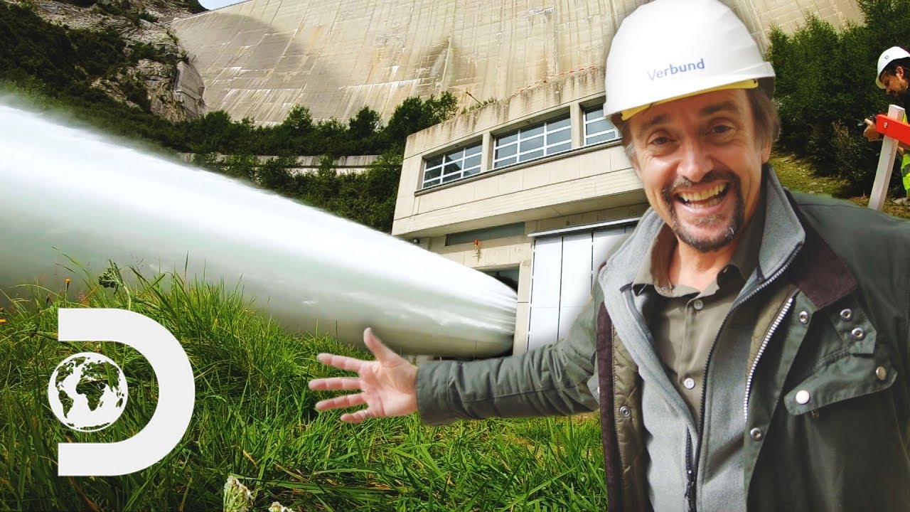 Richard Feels The POWER Of This Huge Valve Pouring Out 20K Litres Per Second | Richard Hammond'