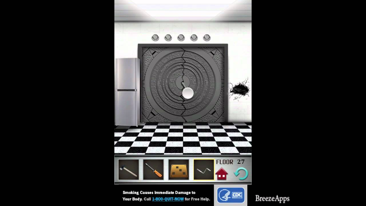 100 floors level 27 walkthrough 100 floors solution floor for Floor 4 100 floors