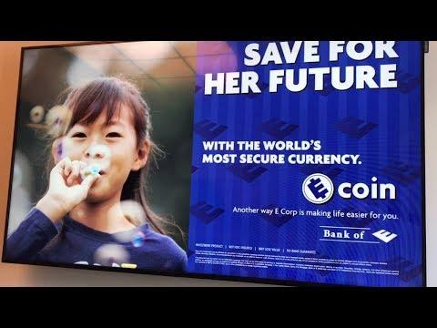 Mr Robot - Bitcoin vs eCoin (evil corp)