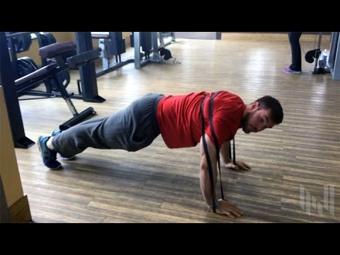 How To Do Power Band Push-Ups - Chest Workout FInishing Move