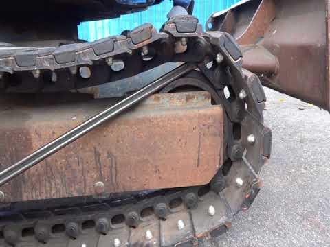 ユンボのゴムクローラー・鉄キャタ 外し方 交換方法 アールアンドディー