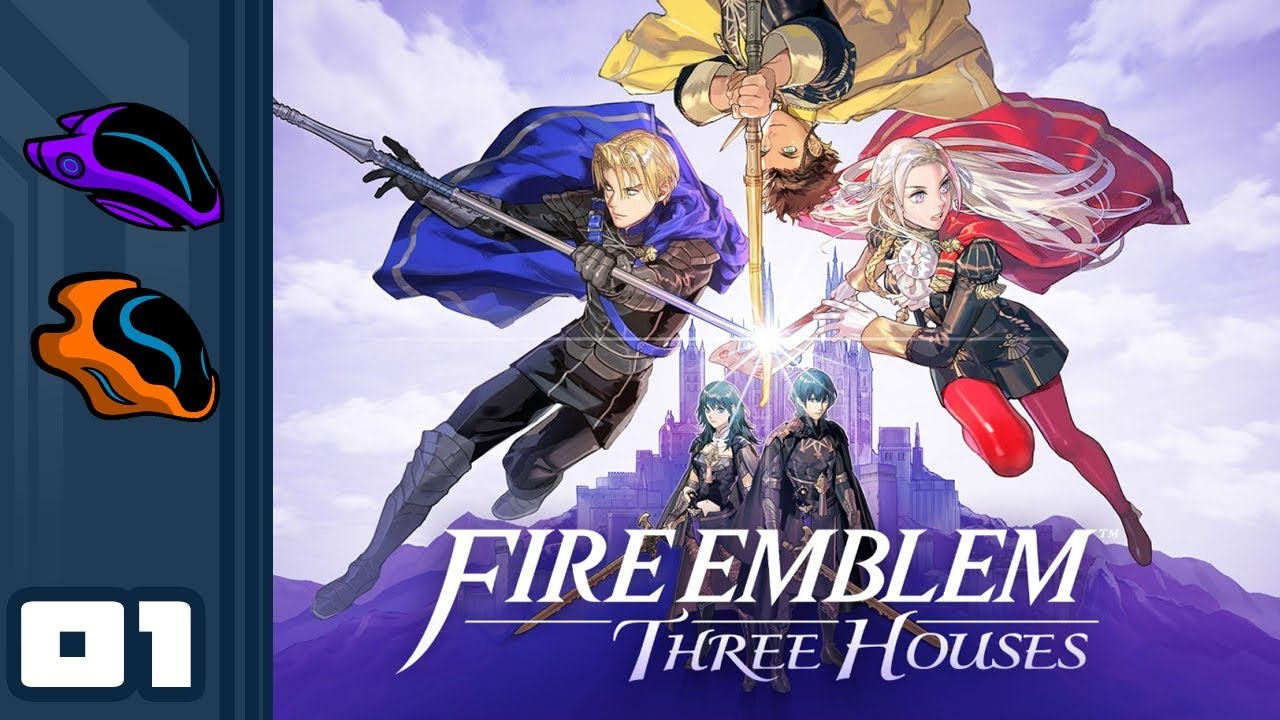 Let's Play Fire Emblem: Three Houses - Switch Gameplay Part 1 - I Don't Wanna Go Back To S