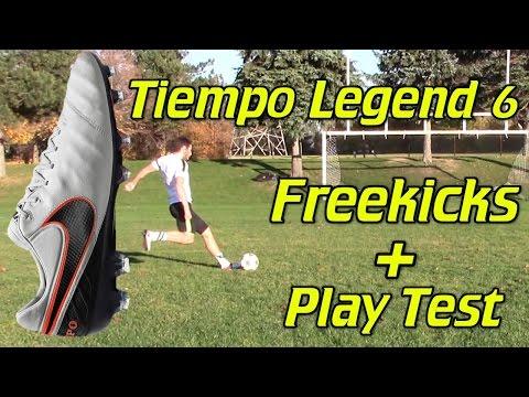 Nike Tiempo Legend 6 Review - Play Test + Freekicks