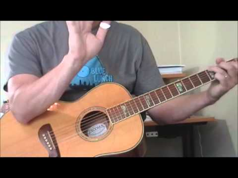Blues Guitar For Absolute Beginners   Love In Vain Part 1