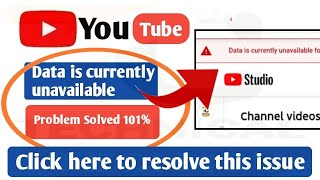 Data is currently unavailable for some videos As a result information may be missing or inaccurate