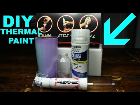 DIY | HOW TO MAKE COLOR CHANGING PAINT