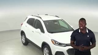 182699 - New, 2018, Chevrolet Trax, 1LT, White, SUV, Test Drive, Review, For Sale -