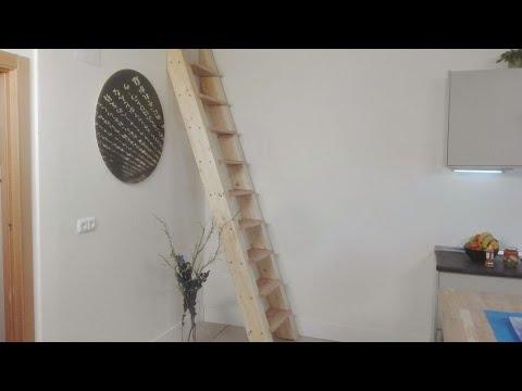 C mo hacer una escalera de madera para el altillo for Construir una escalera de jardin de madera