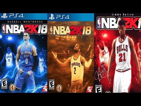 NBA 2k18 - Top 5 Cover Athletes!