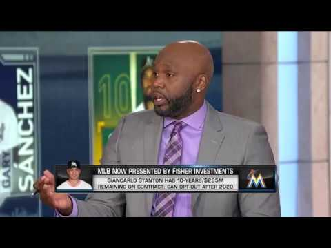 MLB Now on Giancarlo Stanton mlb network