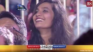 Pro Kabaddi 2019, Semi-final 1: Dabang Delhi vs Bengaluru Bulls video highlights