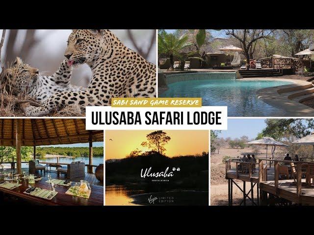 WOW! Richard Branson's ULUSABA Safari Lodge HIGHLIGHTS Sabi Sands SOUTH AFRICA