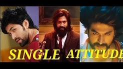 Kannada rocking star Yash single attitude WhatsApp status video