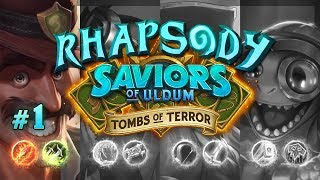 Let's Play Hearthstone Tombs of Terror: Chapter 1   Reno Rushdown - Episode 1