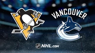 Pittsburgh Penguins vs Vancouver Canucks | Oct.27, 2018 | Game Highlights | NHL 2018/19 | Обзор